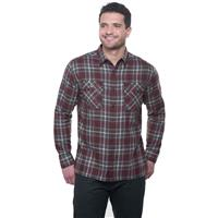 Kuhl Dillingr Flannel LS Shirt - Men's - Rustic Smoke