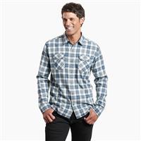 Yukon Blue Kuhl Dillingr Flannel Shirt Mens