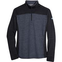 Kuhl Ryzer 1/4 Zip Sweater - Men's - Black / Koal
