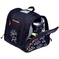 Navy Blue/Orange Kulkea Speed Star Kids Ski Boot Bag