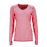 Pink Rock Marmot Lateral LS Womens