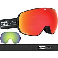 Essential Black Frame w/ Happy Gray / Green + Happy Light Gray Lenses Spy Legacy Goggle
