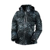 Leopard Print Obermeyer Leighton Luxe Jacket Womens
