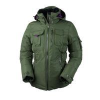 Stone Green Obermeyer Leighton Luxe Jacket Womens