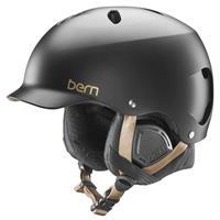 Satin Black Bern Lenox EPS MIPS Helmet Womens