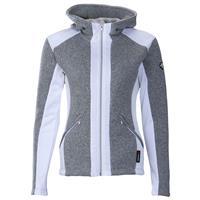 Light Gray / Super White Descente Lauren Jacket Womens