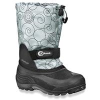 Light Grey Kamik Waterbug 6 Snow Boots Preschool