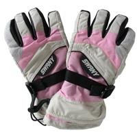Light Grey / Pink Swany X Over II Gloves Youth