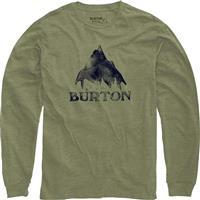 Light Olive Heather Burton Stamped Mountain LS Shirt Mens