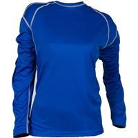 Pigment Blue Cloudveil Lightweight Crew LS Womens