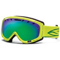 Lime Frame with Green SOL X Lens Smith Phenom Goggle