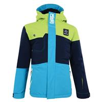 Lime Green / Airforce Blue / Freshwater Blue Dare 2b Furor Jacket Boys