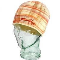 Linen Oakley Checked Out Beanie Womens