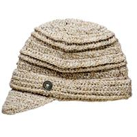 Linen Screamer Danica Billed Beanie Womens