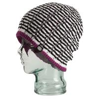 Lt Orchid 686 Snap Reversible Beanie Womens