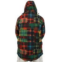 Lumber Print Burton Crucible Jacket Mens