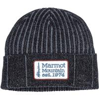 Marmot Retro Trucker Beanie - Black / Steel Onyx