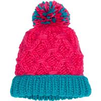 Marmot Harper Hat - Girl's - Disco Pink / Blue Tile