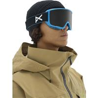Blue Frame with Sonar Smoke & Sonar Blue Lenses (185651 460) Anon M3 Goggle