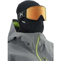 Topo Black Frame with Sonar Night & Sonar Green Lenses (203541 080) Anon M4 Cylindrical Goggle