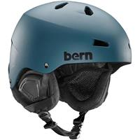 Muted Teal Bern Macon EPS Helmet Mens