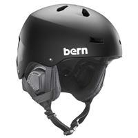 Matte Black Bern Macon EPS MIPS Helmet Mens
