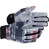 Madras Plaid Burton Spectre Gloves Mens