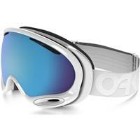 Factory Pilot Whiteout Frame w/ Prizm Sapphire Lens (OO7044 57) Oakley Prizm A Frame 2.0 Snow Goggles