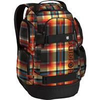Majestic Black Plaid Burton Distortion Pack