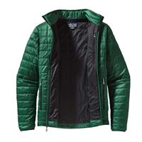 Malachite Green / Black Patagonia Nano Puff Jacket Mens