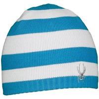 Malibu Blue / White Spyer Woolie Spyder Hat Womens