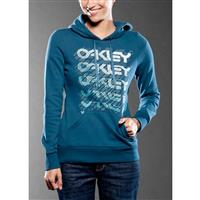 Marine Blue Oakley Split Factory Hoody Womens