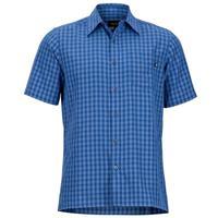 Varsity Blue Marmot Eldridge SS Shirt Mens