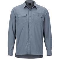 Steel Onyx Marmot Kapalino LS Shirt Mens