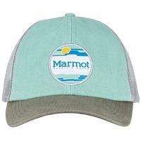Pond Green Marmot Kira Trucker Hat Womens