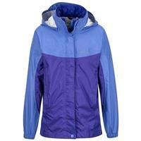 Lilac / Electric Purple Marmot Precip Jacket Girls
