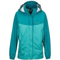 Teal Tide / Malachite Marmot Precip Jacket Girls