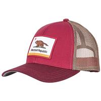 Marmot Republic Trucker Hat - Men's - Brick / Burgundy