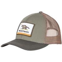 Marmot Republic Trucker Hat - Men's - Crocodile / Rosin Green
