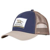 Marmot Republic Trucker Hat - Men's - Vintage Navy / Light Khaki