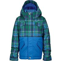 Mascot Mason Plaid/Mason Burton Minishred Fray Jacket Boys