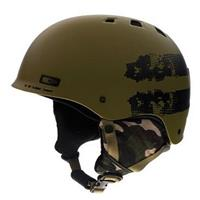 Matte Army Strapped Smith Holt Jr Helmet