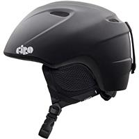 Matte Black Giro Slingshot Helmet Youth