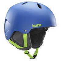 Matte Blue Bern Diablo EPS Helmet Boys