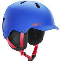 Matte Cobalt Blue Bern Bandito EPS Helmet Boys