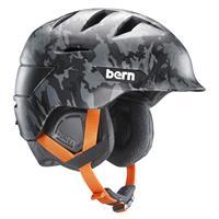 Matte Dark Grey Camo Bern Rollins Helmet Mens