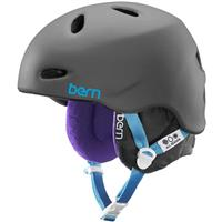 Matte Grey Bern Berkeley Helmet Womens
