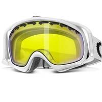 Matte White Frame / Hi Intensity Yellow Lens (02 020) Oakley Crowbar Goggle