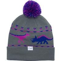 Coal The Dina Dinosaur Graphic Pom Beanie - Women's