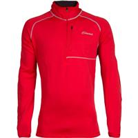 Red Cloudveil 1/4 Zip Pullover Mens